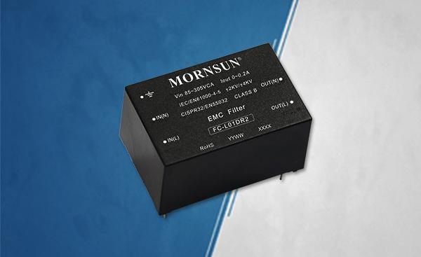 EMV-Filter für AC/DC-Konverter der Serien LS01, LS03 und LS05