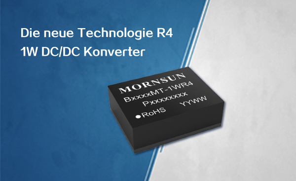 Ultraflacher isolierter DC/DC-Konverter im Gehäuse DFN