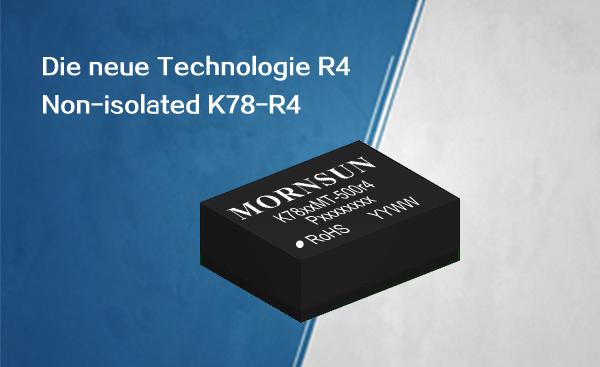 Ultraflacher K78-Konverter im Gehäuse DFN
