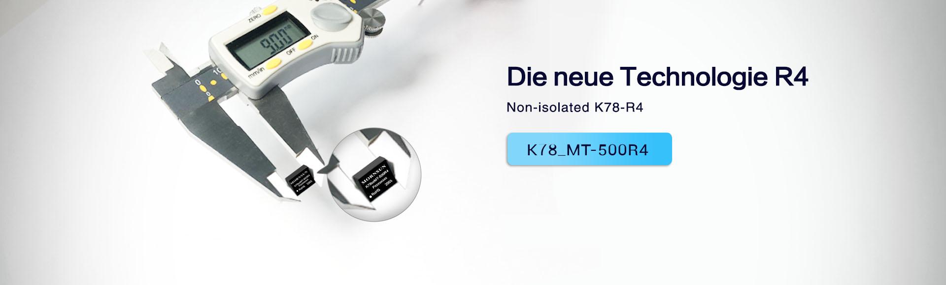 Mornsun Ultraflacher K78-Konverter im Gehäuse DFN