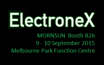 MORNSUN will exhibit at ElectroneX 2015 in September